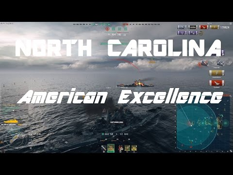 American Excellence - North Carolina Commentary [179k damage]