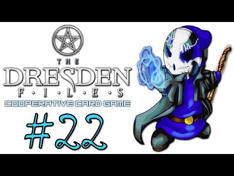 Dresden Files Cooperative Card Game | Let's Play Ep.22 (Finale) | Side Jobs [Wretch Plays]
