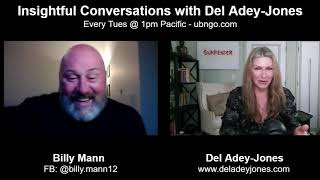 Billy Mann on Insightful Conversations with Del Adey-Jones