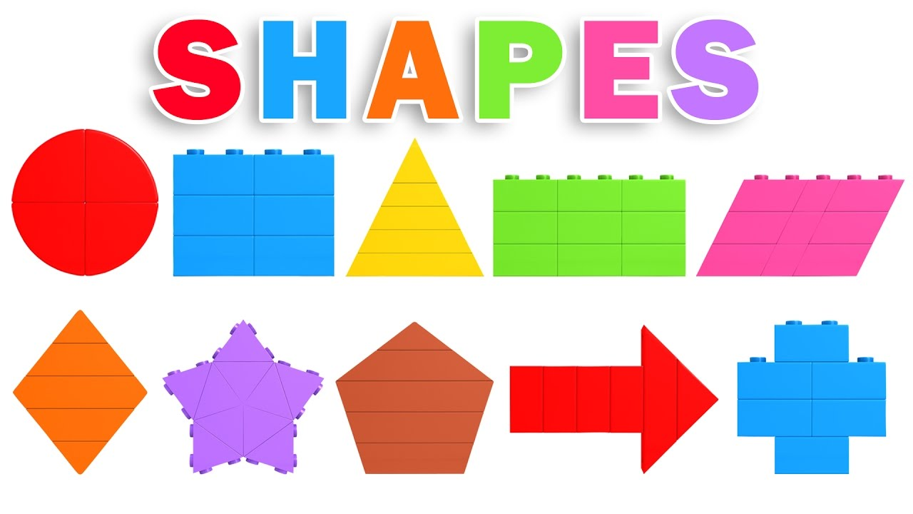 Learn Shapes And Colors Videos For Children