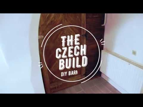 The Czech Build - DIY 49 €  Barn Door From Ikea Bed And Old Palette