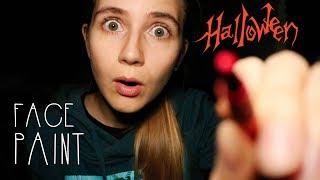 ASMR LoFi Halloween Face Paint Role Play