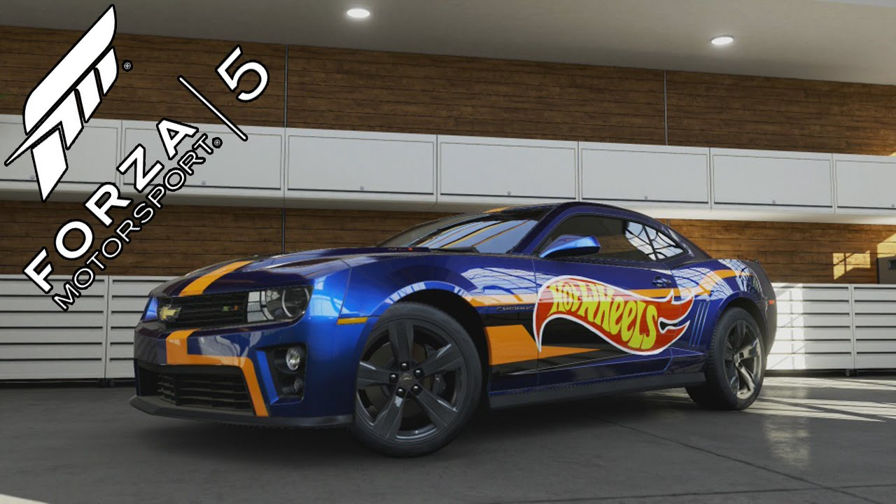 Forza 5 Chevrolet Camaro Zl1 Hotwheels Limited