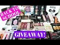 HUGE BACK TO SCHOOL GIVEAWAY 2018 | OPEN INTERNATIONAL WITH HASHTAGFABLIFE