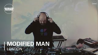 Modified Man Boiler Room London DJ/Live Set