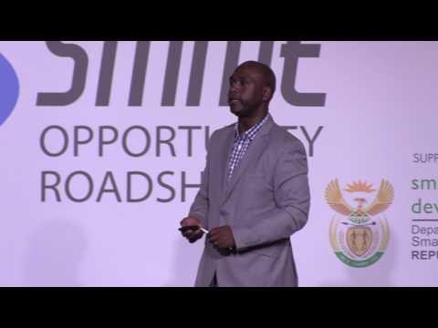 Luvuyo Bangazi at SMME Opportunity Roadshow 2017 Port Elizabeth