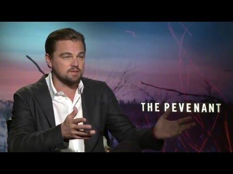 "The Revenant: Leonardo DiCaprio ""Hugh Glass"" Exclusive Interview"
