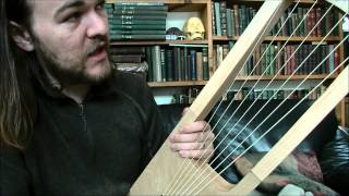 Anglo-Saxon Lyre: Tuning