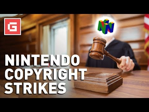 Nintendo Issuing Copyright Strikes on YouTube