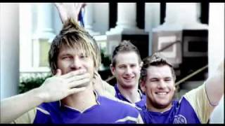 Set Wet ad featuring Shane Watson and RR Team