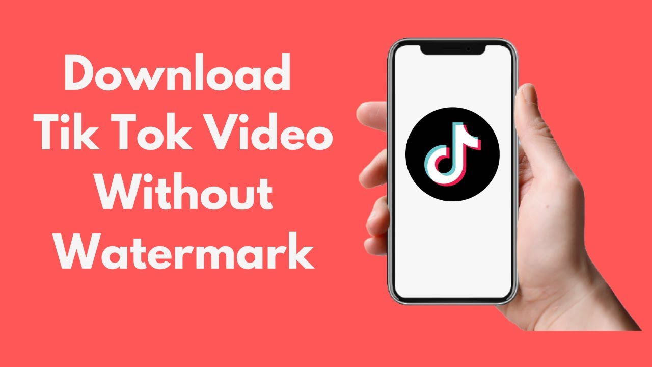 How To Download Tik Tok Video Without Watermark Youtube