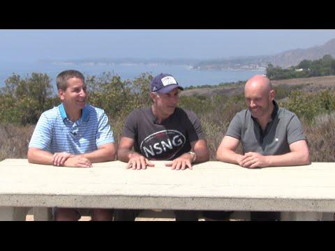 Vinnie Tortorich, Fat Emperor & Dr. Jeff Gerber chat on Malibu Beach - part 1 #LCHF