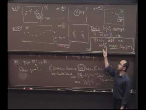 Real Analysis, Lecture 15: Convergence of Sequences