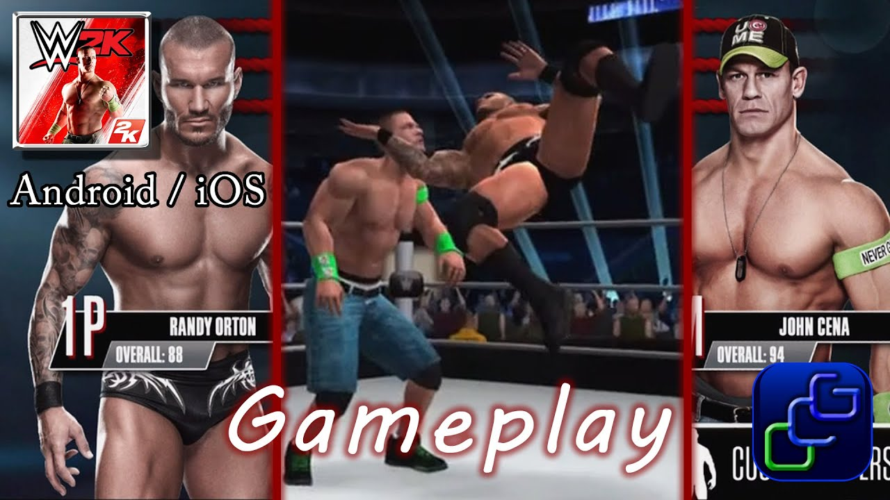 WWE 2K Android iOS Gameplay - Big Show vs Kane, Randy Orton vs John Cena -  YouTube