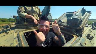 Five Finger Death Punch Tank Driving with EMP
