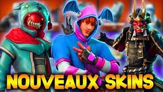 NEW EXCLUSIVE SKINS ON FORTNITE! LEAK (30 SKINS)