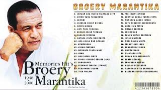 [Tanpa Iklann] 40 Top BROERY MARANTIKA [Full Album] Tembang Kenangan   Lagu Lawas 80,90an Terpopuler
