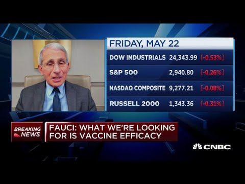 Dr. Fauci: Many Covid-19 vaccine candidates in the works