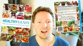Chatting About Healthy & Easy the Recipe Book by Bastian Durward of Nest and Glow