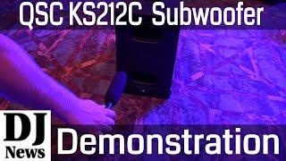 #QSC KS212C DJ Subwoofer With Cardioid Bass Directional Pattern | Disc Jockey News
