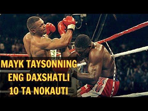 MAYK TAYSONNING 10 TA ENG DAXSHATLI JANGI !!!