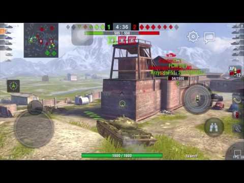 Gighen guide medi:T-54 #1 over 4000 dmg wot blitz ITA