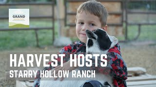 Ep. 106:  Harvest Hosts - Starry Hollow Ranch | Utah RV travel…