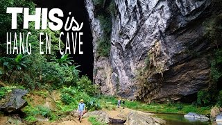 A night in the 3rd Largest Cave in the World - Hang En Cave, Vietnam