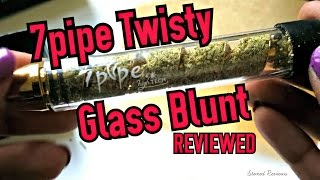 7pipe twisty glass blunt review
