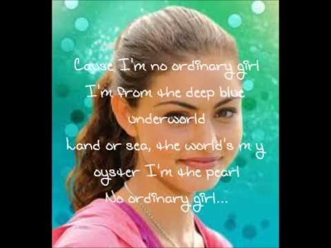 No Ordinary Girl-Indiana Evans (H2o Just Add Water)
