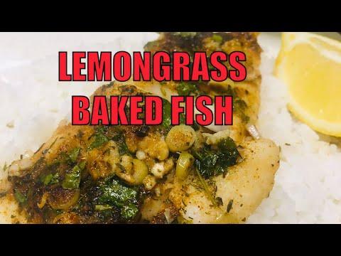 LEMONGRASS BAKED FISH