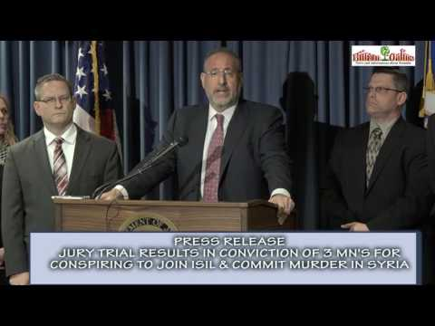PRESS CONFERENCE S ATTORNEY ANDREW LUGER & FBI, RICHARD THORNTON