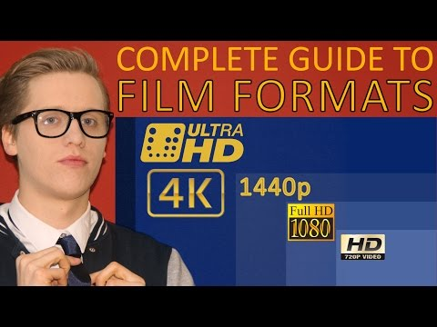 Understanding Film Formats | 4K vs. UHD vs. 1440p vs. Full HD vs. HD