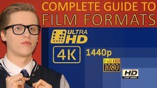 Understanding Film Formats | 4K vs. UHD vs. 1440p vs. Full HD vs. HD