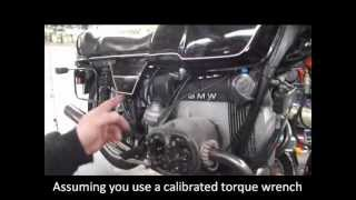 BMW Service - Airhead Valve Adjustment