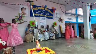 Aj mon chayache ami haria jabo new version/ dance performance /Sonamui Kadambini Balika Vidyalaya H.