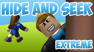 CORRE O MUERE!!!!! - Roblox Hide and Seek Extreme- Herley Andres