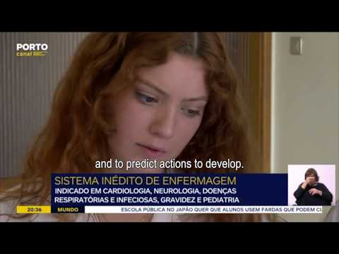 Body Interact on the news: ESEP @ Porto canal