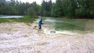 Gambar cover Traxxas Stampede VXL 4x4 & Traxxas Summit plays with Mud and Water!!