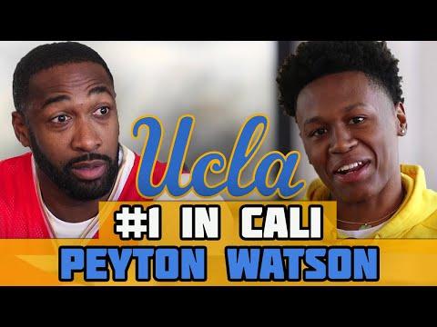 Bringing A Championship BACK to UCLA   #1 Ranked Basketball Player In California Peyton Watson