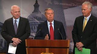 Graham: 'Skinny bill' a disaster, a fraud