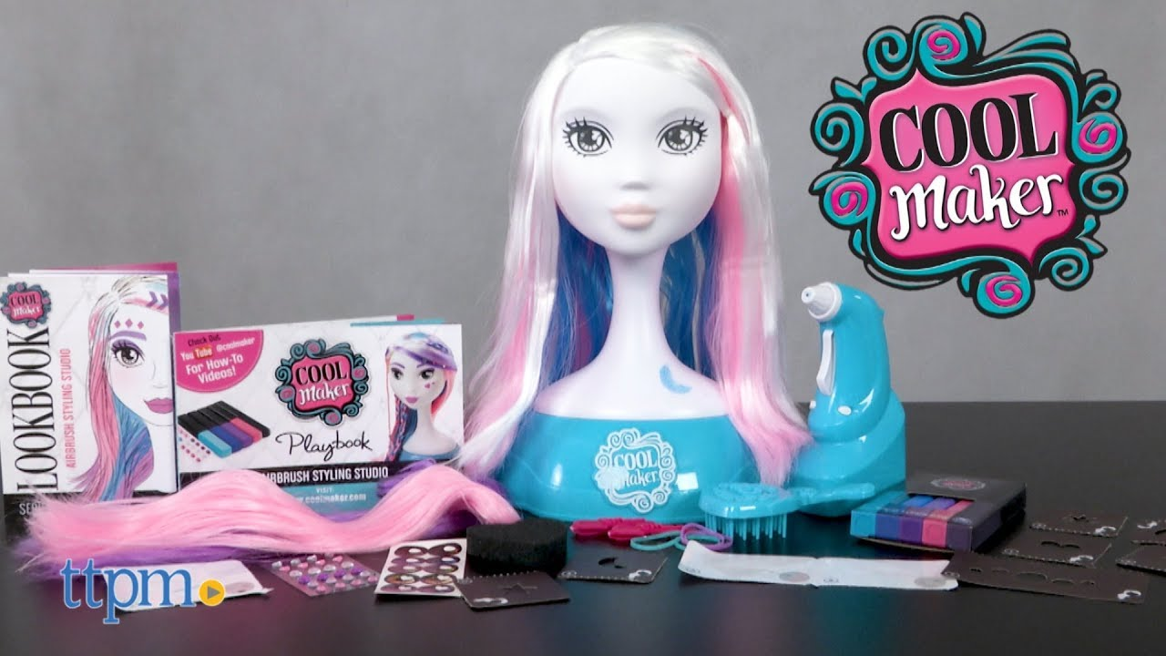 Cool maker airbrush styling studio from spin master youtube cool maker airbrush styling studio from spin master solutioingenieria Gallery