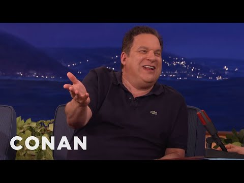 Jeff Garlin Is SO ProNaked   CONAN on TBS