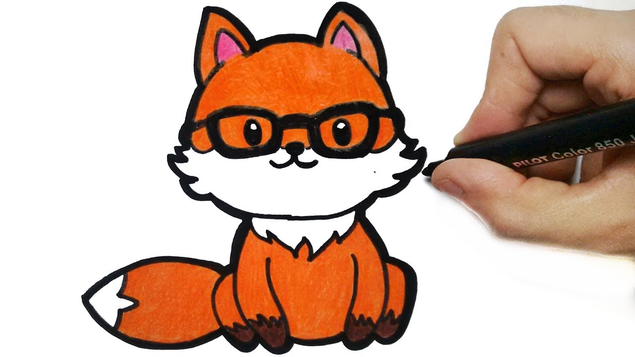 How To Draw A Fox Tumblr Youtube