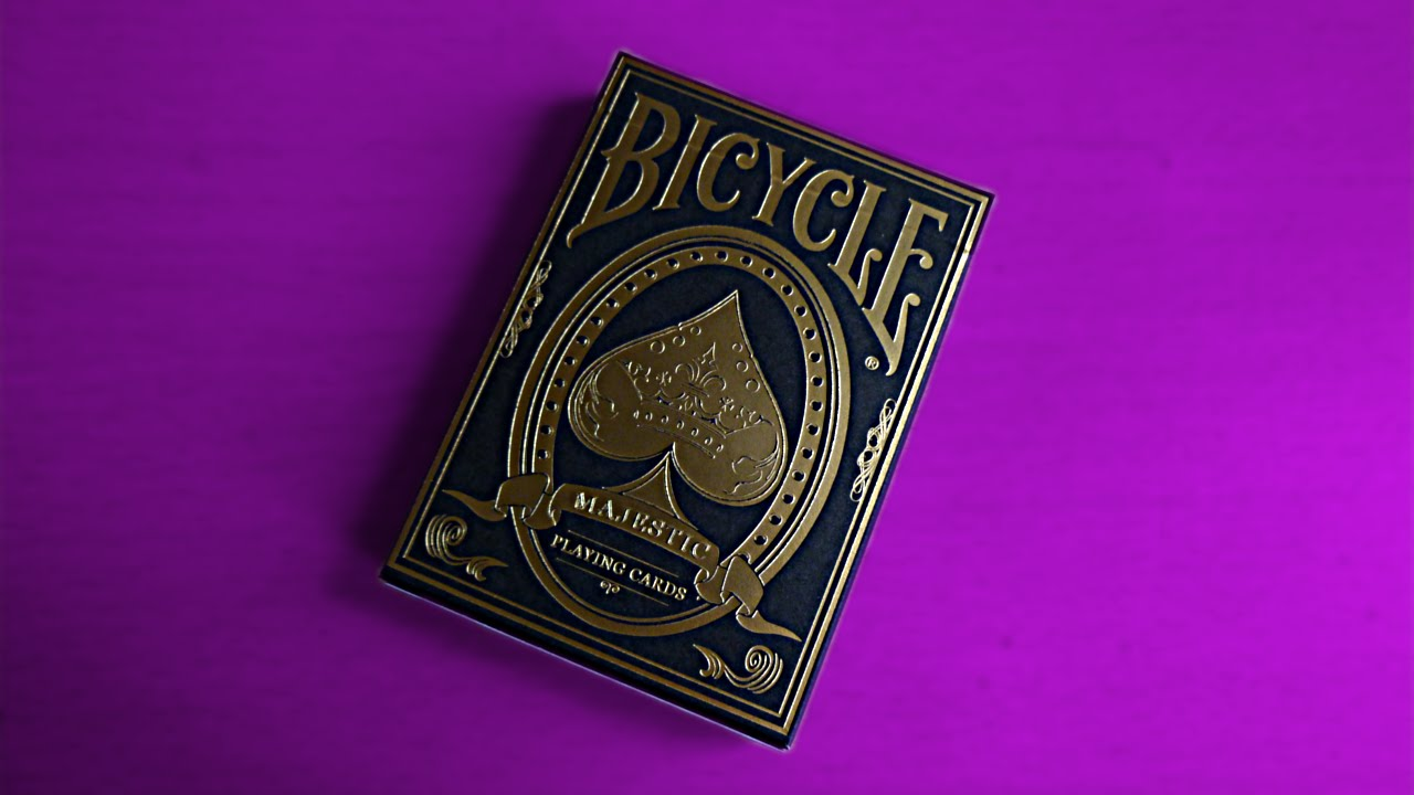 jeux de carte bicycle Review   Jeu de Cartes Bicycle Majestic   YouTube