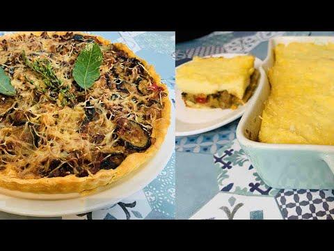 2-recettes-italiennes-sans-viande-idéales-pour-le-diner-(gratin-et-tarte-salée)