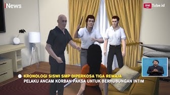 Kecanduan Nonton Video Porno, 3 Remaja Perkosa Siswi SMP - iNews Siang 09/04