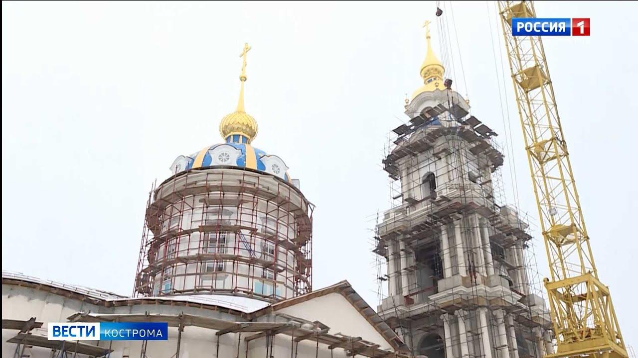 Восстанавливать Костромской кремль продолжают изнутри