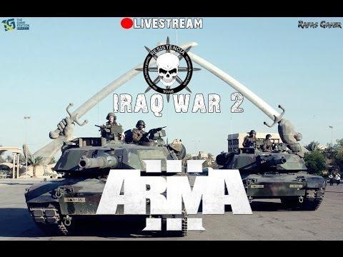 (LIVE) Arma 3 Operação Iraq War 2 | Mapa Zargabad