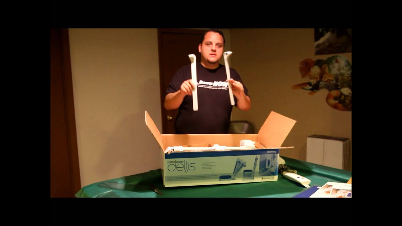 Bathmaster Deltis Reclining Bath Lift - Unboxing and setting up ...